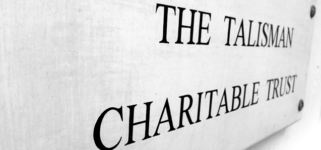 The Talisman Charitable Trust, of 354 Kennington Road, London.